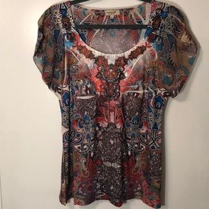Barely Worn One World Top